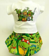 Teenage Mutant Ninja Turtle Theme Outfit For 18 Inch Doll