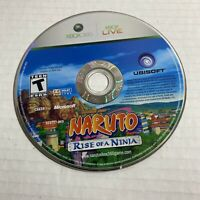 Naruto: Rise of a Ninja (Microsoft Xbox 360 ) Disc Only Video Game Free Ship