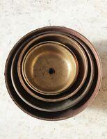 Clock Bells 5x Mixed Brass Copper Vintage Antique