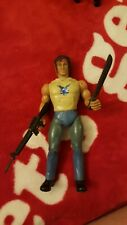 Vintage Rambo Action Figure Rambo Fire Power with Accessories