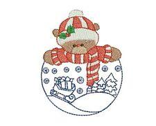 CHRISTMAS BUDDY  - 20 MACHINE EMBROIDERY DESIGNS
