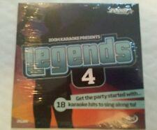 ZOOM KARAOKE CDG    LEGENDS VOLUME  4   ELTON, ROD   etc.   1  DISC  18 TRACKS