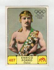 figurina CAMPIONI DELLO SPORT 1968-69 -REC- N. 407 LONDRA 1908 PORRO