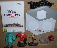Disney Infinity Juego Nintendo Wii Juego USB Portal base 3 figura disco de guión Sully