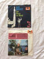 """Gus Backus"" Polydor, 2 Singles 7 Inch  45 U/min 1961 Sauerkraut-Polka ..."