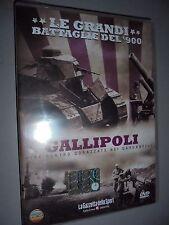 DVD N° 15 LE GRANDI BATTAGLIE DEL 900 GALLIPOLI 1915 MINE CONTRO CORAZZATE