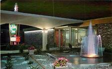 1960s Holiday Inn fountain Neon Sign Reno Nevada Teich postcard 415