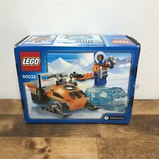 LEGO City Arctic Snowmobile 60032 Sealed NIB Retired orange minifigure vehicle