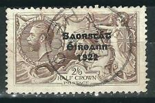 Ireland Stamps 77b SG 86 2/6d Choclate Wide Date SOTN VF 1927 SCV $60.00