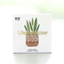 45pcs/pack Green Plants Paper Stickers Scrapbooking DIY Diary Album Decorative