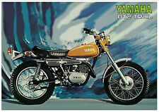 YAMAHA Poster DT2 Trail 1972 Superb Suitable to Frame