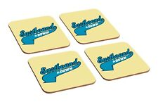 Eastbound And Down Kenny Powers 4 Piece Wooden Coaster Set