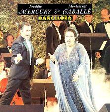 "Freddie Mercury &  Montserrat Caballé  Barcelona 3 track Uk 12"""