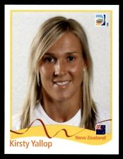 Panini Women's World Cup 2011 - Kirsty Yallop New Zealand No. 132