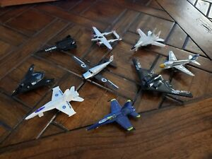 Lot of Diecast and Plastic Airplanes Aircraft Military Jets Bombers Army Air For