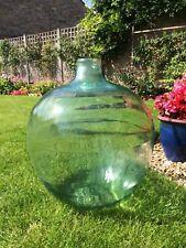 More details for vintage light green glass carboy. suitable for terrerium.