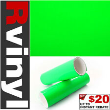 "Pro 36""x12"" Neon Green Vinyl Film Subwoofer Speaker Box Wrap for Ram & more"