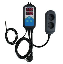 220V Aquarium Fermenting Digital Temperature Temp Controller Thermostat + Timer