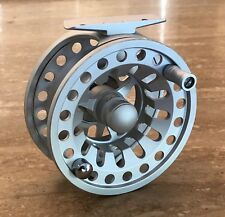DELTA STRIKE FLY FISHING REEL #3,4,5 Weight Pewter Silver Machined Aluminium