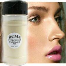 NEW RCMA Translucent Warm Gold Over Powder 3oz Face Loose No-Color Makeup