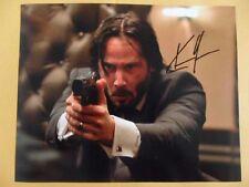 Keanu Reeves 8x10 Autographed ''John Wick Chapter II'' Photo