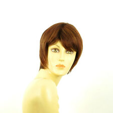 short wig for women brown copper wick light blond and red ref: OCEANE 33h PERUK
