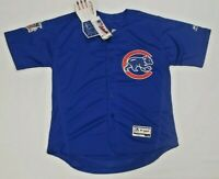 Brand New Javier Baez Chicago Cubs Flex Base Majestic Jersey Blue Size 44 Large