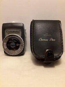 Gossen Luna-Pro Exposure Light Meter with Case