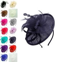 Finecy In - Ladies&Women Wedding Races Occasion Headband Flower Hat Fascinator
