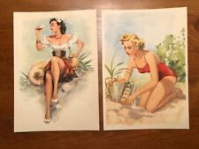 1950s Pin Up Postcards - Heinz Fehling - Lot of 14