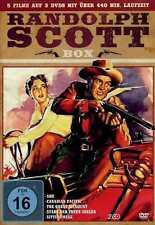 Randolph Scott Box | 5 Filme | 440 min. | Western | Box | Collection [FSK16] DVD