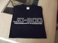 RETRO SYNTH JD 800 DESIGN TSHIRT S M L XL XXL synthesizer
