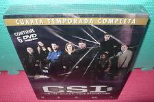 CSI - 4 TEMPORADA COMPLETA - 6 DVDS  - PRECINTADA