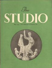 THE STUDIO. ERWIN WEINBERG. ART MAGAZINE MAY 1949