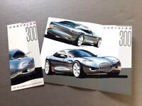 1991 Chrysler 300 Concept Prototype Original Showcar Car Sales Brochure