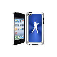 Blue Apple iPod Touch 4th Generation Hard Case Cover B939 Baseball Player