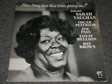 Sarah Vaughan~How Long Has This Been Going On?~Oscar Peterson~Pablo 2310-821