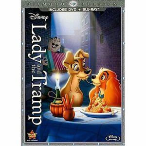 Disney Lady & The Tramp Diamond Edition DVD and Blu-ray Combo Pack DVD/Blu-ray