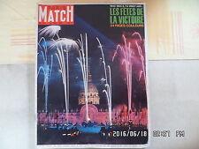 PARIS MATCH N°841 22 MAI 1965 LES FETES DE LA VICTOIRE JOHN WAYNE  G44