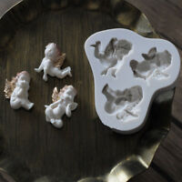 3D Baby Angel Silicone Mold Fondant Chocolate Cake Mould Baking Decorating Tools
