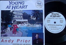 """ANDY PRIOR, YOUNG AT HEART-4 track 7"""" PS PROMOTIONAL-DG GL001-1993"""