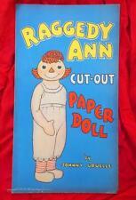 SCARCE: Raggedy Ann Cut-Out Book #946 (Whitman, 1935) Platinum Age Comic Books