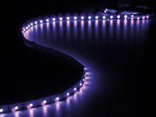 FLEXIBLE RUBAN 300 LED UV LUMIERE NOIRE AUTOCOLLANTE 12V 5m + ALIMENTATION