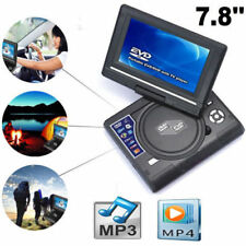 LETTORE MP3 MP4 DVD PORTATILE 7.8 POLLICI LCD DVX VIDEO CD FOTO SLOT SD USB FM