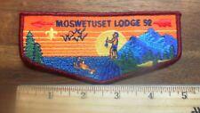 OA Moswetuset Lodge 52  Flap TU5