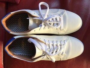 Charles tyrwhitt leder sneakers größe 43 weiß , top Zustand