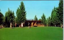 CRANBROOK, BC,  CANADA   Cranbrook GOLF & COUNTRY CLUB  1950s  Postcard