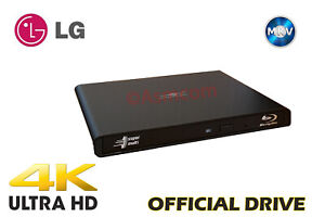 LG-BU40N Firmware  v1.03mk, in Slim Vantec Enclosure, 4K, Ultra HD, UHD Friendly