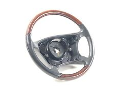 Mercedes Benz S-Class Wood & Leather Steering wheel Brown OEM A 220 460 0503