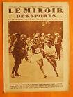 Le Miroir des Sports 486 du 11/6/1929-Versailles-Paris.Chapuis 1re Beddari 2ème